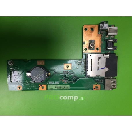 USB,sd,maitinimo lizdo plokštė ASUS A52N