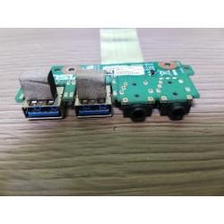 USB3.0 ir garso išėjimų plokštė su šleifu