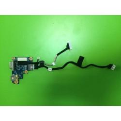 Maitinimo lizdo plokštė su laidu Acer Aspire 3410