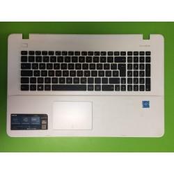 Apatinės dalies viršus su klaviatūra ASUS F751S